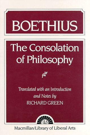 9780023464508: The Consolation of Philosophy: Boethius