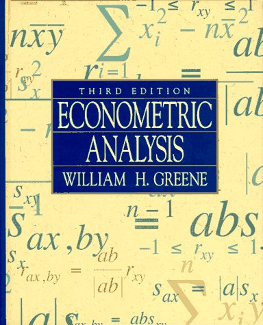 9780023466021: Econometric Analysis