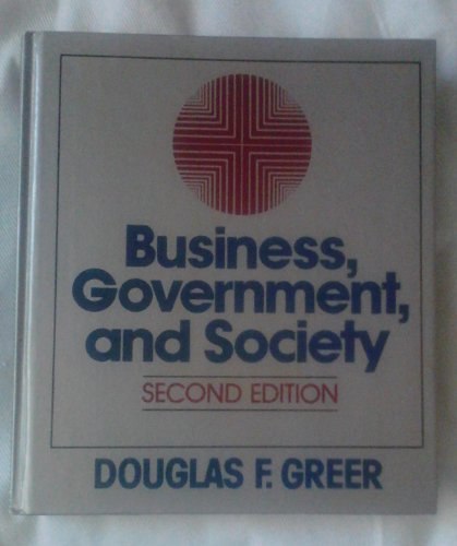 9780023471209: Business, government, and society