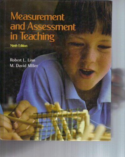 9780023482618: Measurement and Assessment in Teaching