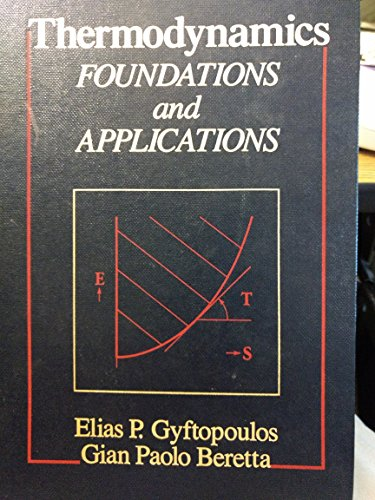 9780023484551: Thermodynamics: Foundations and Applications