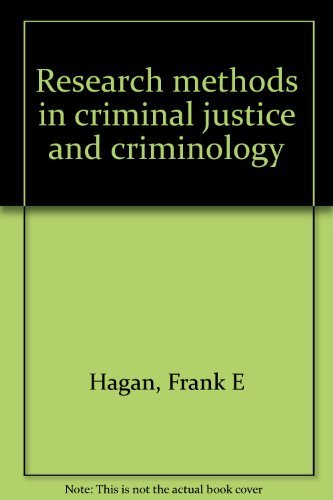 9780023488306: Research methods in criminal justice and criminology
