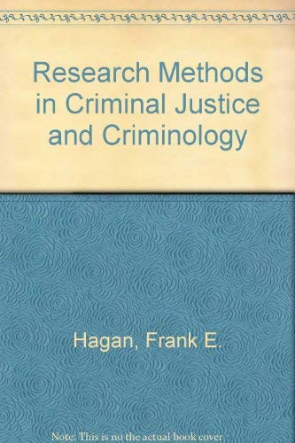 9780023489914: Research Methods in Criminal Justice and Criminology