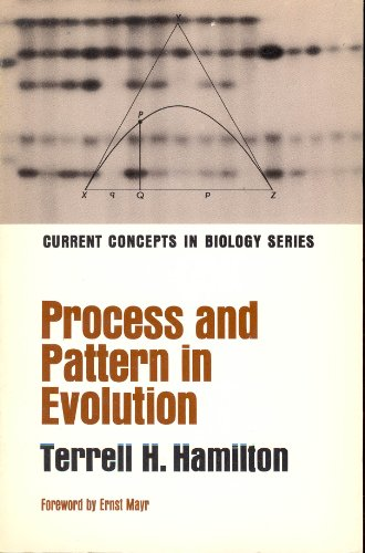9780023495007: Process and Patterns in Evolution (Concepts in Current Biology)