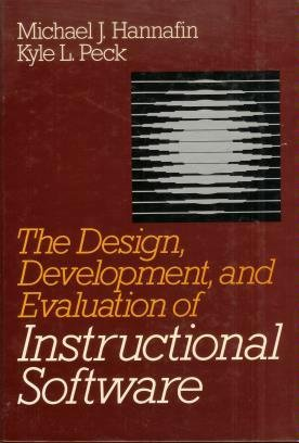 The Design Development And Evaluation Of Instructional Software