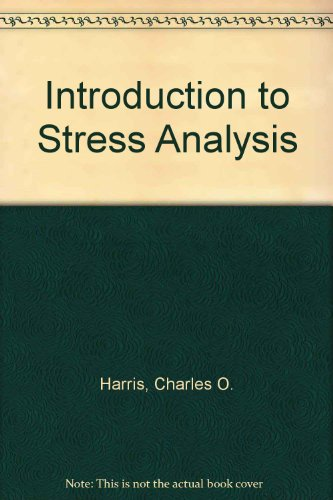 9780023502903: Introduction to Stress Analysis