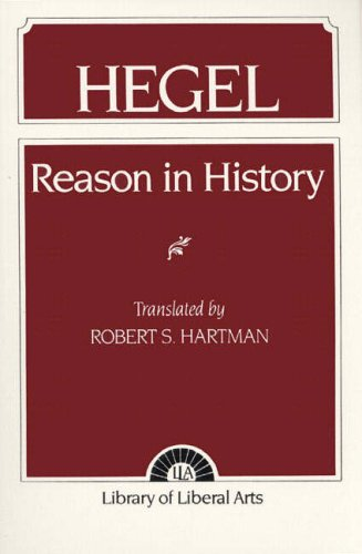 9780023513206: Reason in History: A General Introduction to the Philosophy of History