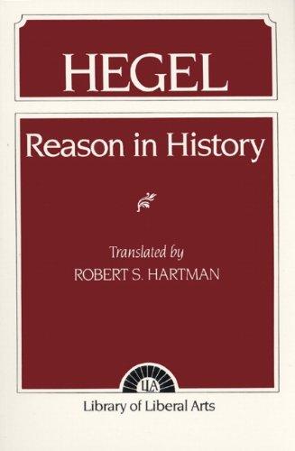 9780023513206: Hegel: Reason in History