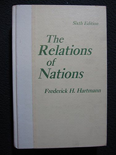 9780023513503: Relations of Nations