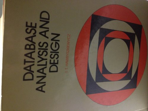 9780023518515: Database Analysis & Design