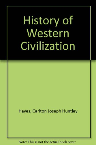 9780023524509: History of Western Civilization