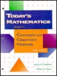 9780023529467: Today's Mathematics