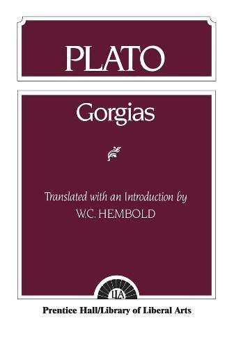 9780023529504: Plato: Gorgias