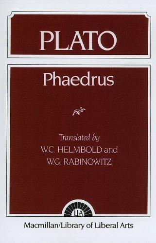 9780023529603: Plato: Phaedrus