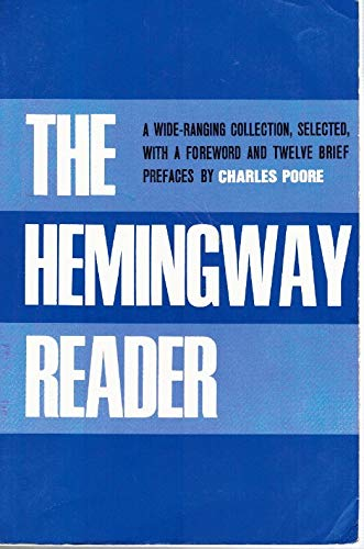 Stock image for Hemingway Reader for sale by SecondSale