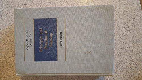 9780023535802: Principles and Practice of Nursing