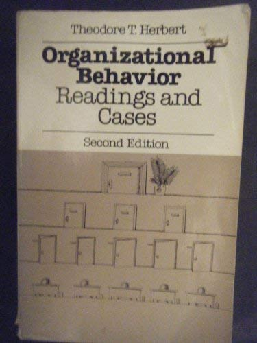 9780023536106: Organizational behavior: Readings and cases