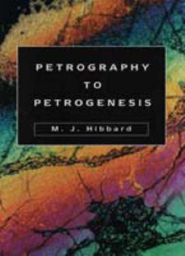 9780023541452: Petrography to Petrogenesis