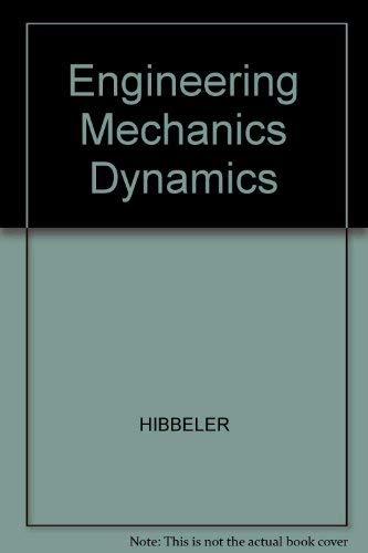 9780023542503: Engineering Mechanics Dynamics