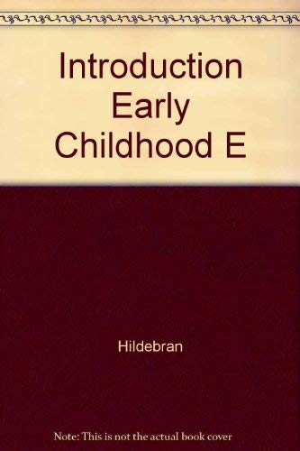 9780023542800: Introduction to Early Childhood Education