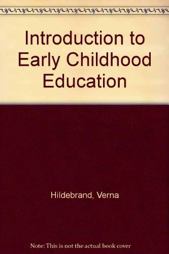 9780023542909: Introduction to Early Childhood Education