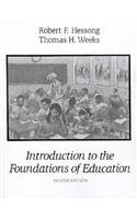 9780023543951: Introduction to the Foundations of Education (2nd Edition)