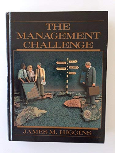 9780023544712: The Management Challenge: an Introduction to Management