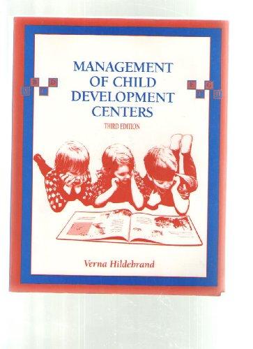 9780023545245: Management of Child Development Centers