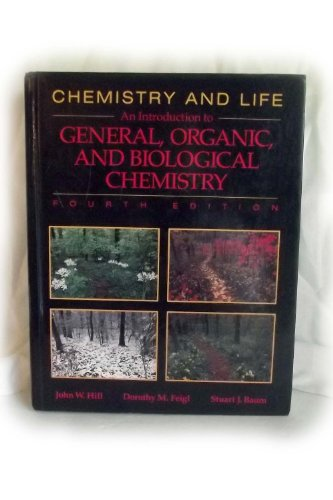 9780023545412: Chemistry and Life: An Introduction to General, Organic, and Biological Chemistry
