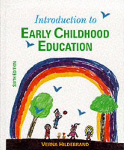 9780023545535: Introduction to Early Childhood Education