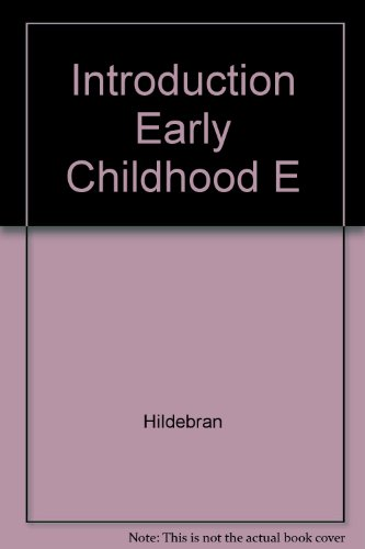9780023546303: Introduction Early Childhood E