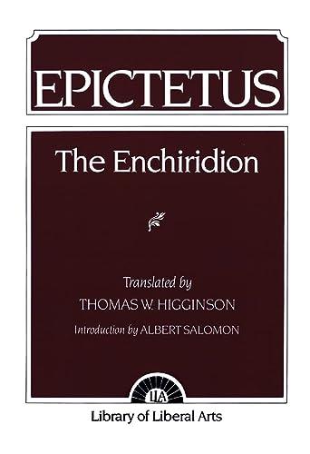 9780023546402: Epictetus: Enchiridion, the: The Enchiridion