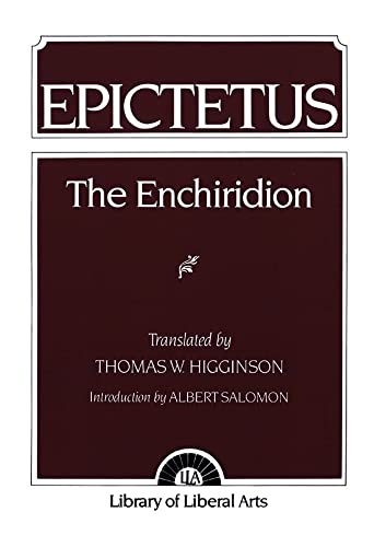9780023546402: The Enchiridion (The Library of Liberal Arts, 8)