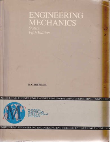 9780023546921: Engineering Mechanics: Statics (Study Guide)