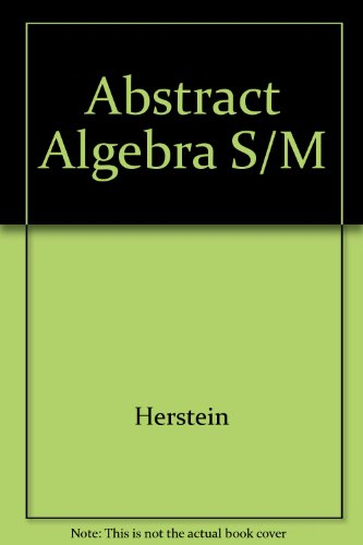 9780023547201: Student's Solutions Manual to Abstract Algebra