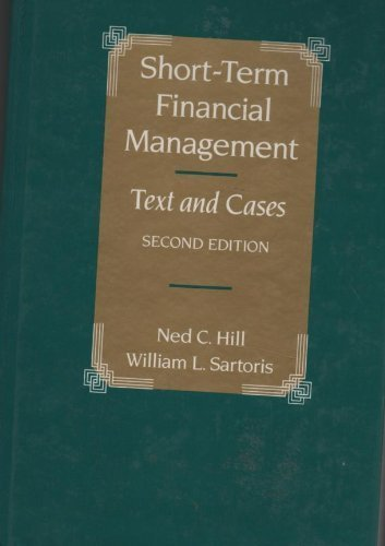 9780023548215: Short-Term Financial Management: Text and Cases