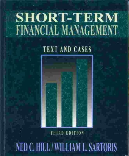 9780023548321: Short Term Financial Management
