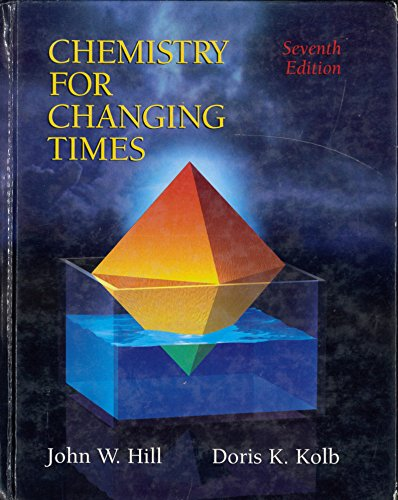 9780023551000: Chemistry for Changing Times
