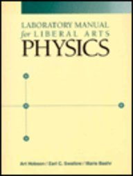 9780023555916: Laboratory Manual for Liberal Arts Physics