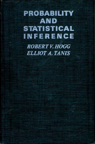 9780023556500: Probability and statistical inference