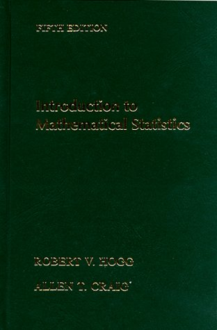 9780023557224: Introduction to Mathematical Statistics