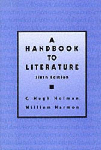 9780023564208: A Handbook to Literature