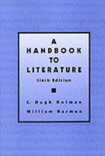 9780023564208: A Handbook to Literature (6th Edition)