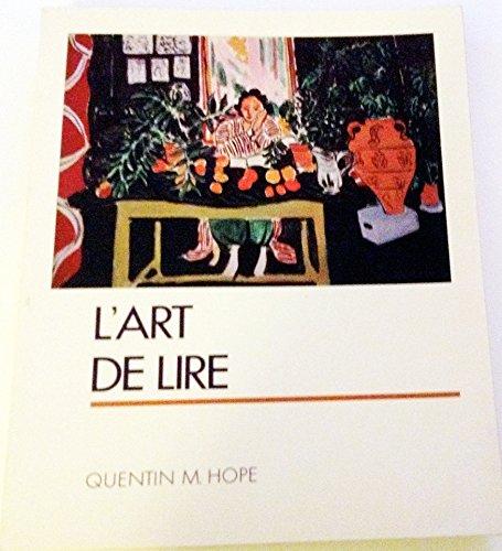 9780023569203: L'Art De Lire