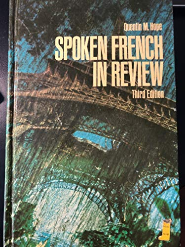 9780023569500: Spoken French in Review