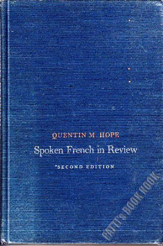 9780023570407: Spoken French in Review