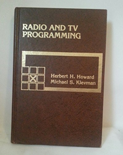 9780023572401: Radio and TV Programming