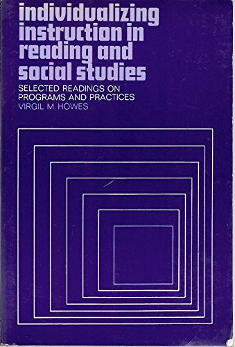 9780023574801: Individualizing Instruction in Reading and Social Studies; Selected Readings on Programs and Practices