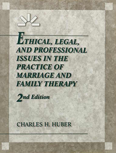 9780023575013: Ethical, Legal, and Professional Issues in the Practice of Marriage and Family Therapy