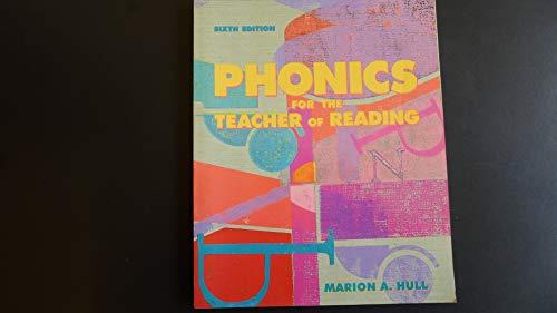 9780023584312: Phonics for the Teacher of Reading: Programmed for Self-Instruction